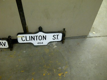 Decommissioned Toronto street signs going up for auction. (Courtesy City of Toronto)