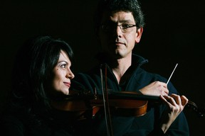 Len Ingrao is the Community Orchestra conductor and Carolyn Martinelli is concert master. (Free Press file photo)