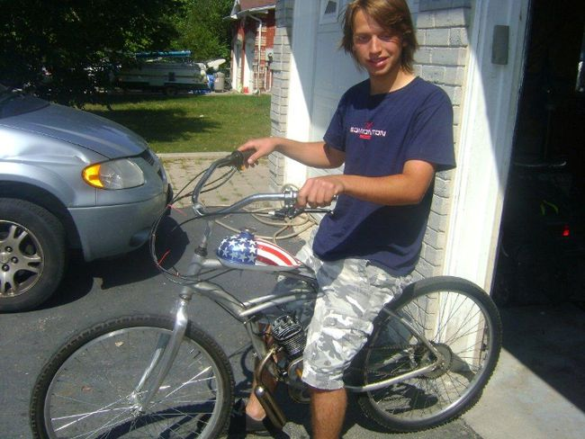 Brandon Majewski died after being hit by a car while riding his bike on Oct. 28, 2012.