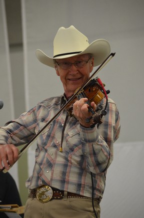 Alfie Myhre performed at the Whispering Waters fundraising concert last year. Myhre is returning to this year's concert in Stony Plain on April 26. - Thomas Miller, File Photo