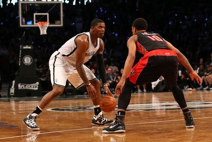 NBA: Playoffs-Toronto Raptors at Brooklyn Nets