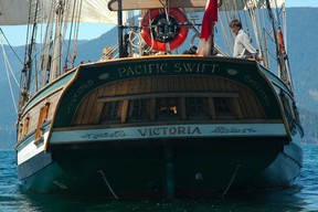 Students from Frank Maddock High School got the chance to take a sailboat trip