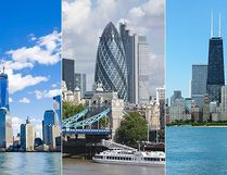 Can you ace our tricky travel quiz by correctly IDing all the city skylines? Click through our gallery, see if you can guess what city skyline you're looking at, then click on to the answer. (Fotolia)