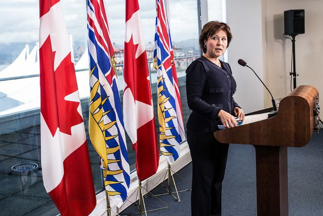 Premier Christy Clark is embarking on a fifth trip to Asia to promote LNG, but one critic says the trade mission is more political than economic. (CARMINE MARINELLI/24 HOURS FILE PHOTO)