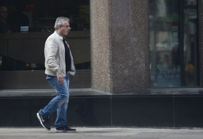 Bruno Perciasepe was a corrupt cleaner turned police agent who helped to convict three rogue provincial government officials who orchestrated an elaborate kickback scheme. (Jack Boland/Toronto Sun)