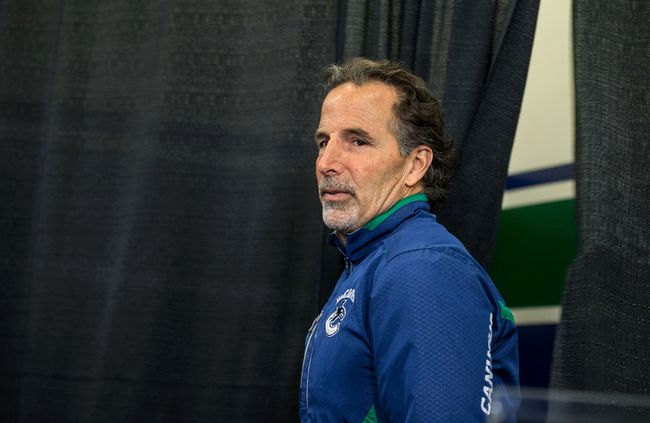 Vancouver Canucks' head coach John Tortorella is sacked May 1, 2014. Seen here at the end of season news conference in Vancouver, B.C. on Monday April 14, 2014. (CARMINE MARINELLI/24 HOURS)