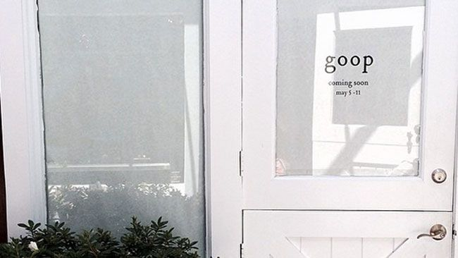 Gwyneth Paltrow posted an Instagram photo of a possible Goop pop up store. (Gwyneth Paltrow/Instagram)