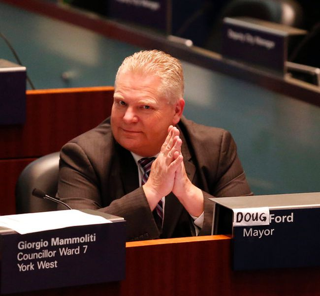 Councillor Doug Ford