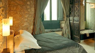 Castell d'Empordà, Empordà, Spain: Catalan countryside meets the Med at this stylish property. A medieval castle is your temporary roost for a fairytale romantic getaway. (Courtesy Mr & Mrs Smith)
