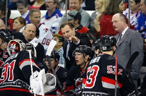 Kirk Muller, who was fired by the Carolina Hurricanes on Monday, says he would consider working as an NHL assistant coach or junior head coach. The Kingston native wants to be an NHL head coach again some day. (James Guillory/USA TODAY Sports)