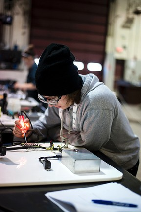 High school students from around the region were at Lakeland College this past Friday for the regional Skills Canada competition.