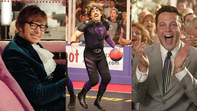 From Austin Powers, Dodgeball, to Wedding Crashers, we take a look at the best summer movies. (QMI Agency Files)