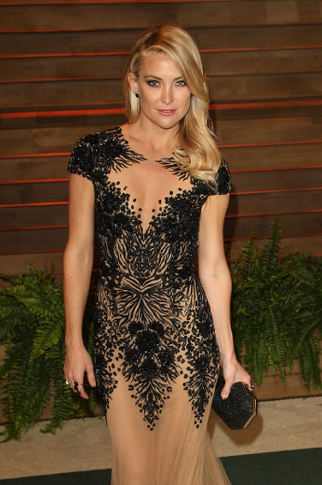 Kate Hudson at the 2014 Vanity Fair Oscar Party in West Hollywood. (FayesVision/WENN.com)