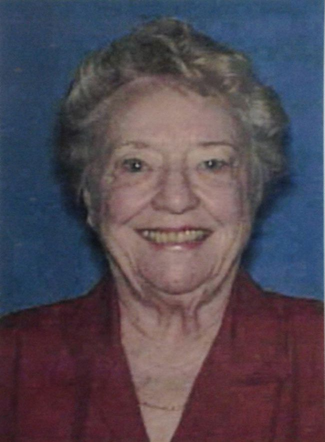 Shirley Dermond, 87, is missing and police in Georgia are concerned for her safety. Her husband, Russell Dermond, 88, was found dead and beheaded in the garage of their Lake Oconee home on Wednesday, May 7, 2014. (Photo: Handout/QMI Agency)