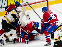 Bruins callup Matt Fraser knots up series against Canadiens