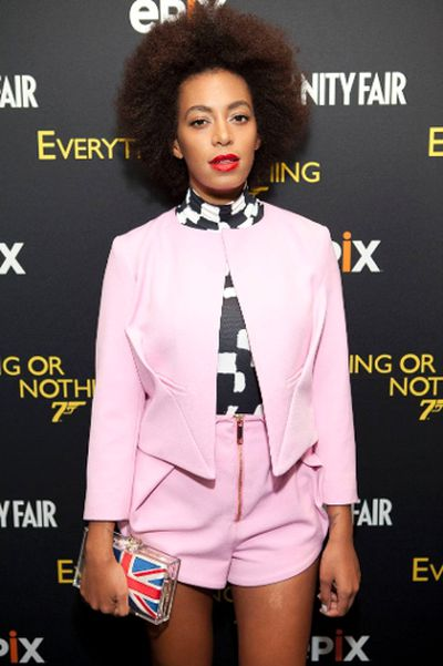 "Solange Knowles (Jeff Grossman/<A HREF=""http://www.wenn.com"")"