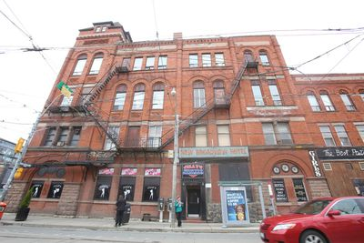 A new owner/developer has bought the existing 125 year-old building that houses Jilly's strip club and the Broadview Hotel that is basically a three-floor rooming house. Jack Boland/Toronto Sun/QMI Agency