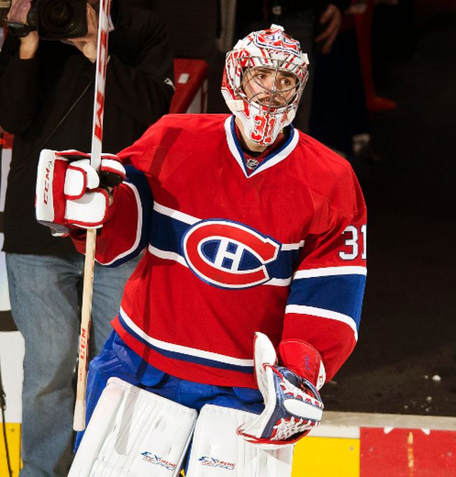 John Mastromonaco, the man who recovered Montreal Canadiens goalie Carey Price's missing dogs last week, will attend Game 7 against the Boston Bruins. (PIERRE-PAUL POULIN/QMI Agency)