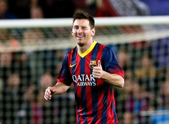 Barcelona star Lionel Messi will become the world's top-paid soccer player with an annual salary of 20 million euros. (Reuters)