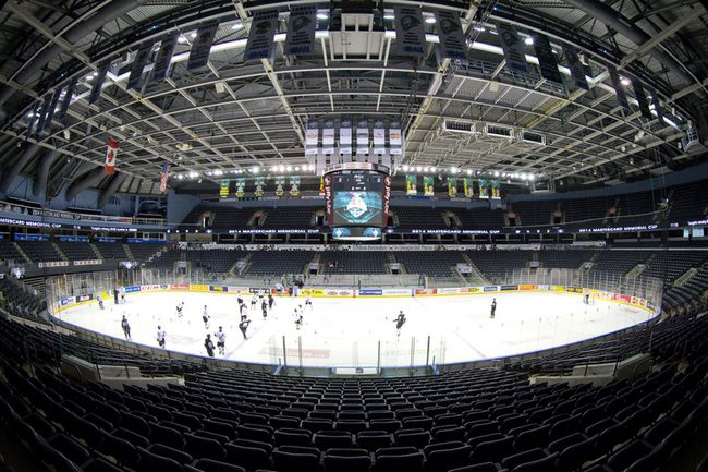 Budweiser Gardens, host of the 2014 Memorial Cup, in London. CRAIG GLOVER/The London Free Press/QMI Agency