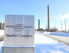 An industrial accident occurred Wednesday at the Glencore smelter complex in Falconbridge. (Sudbury Star file photo)