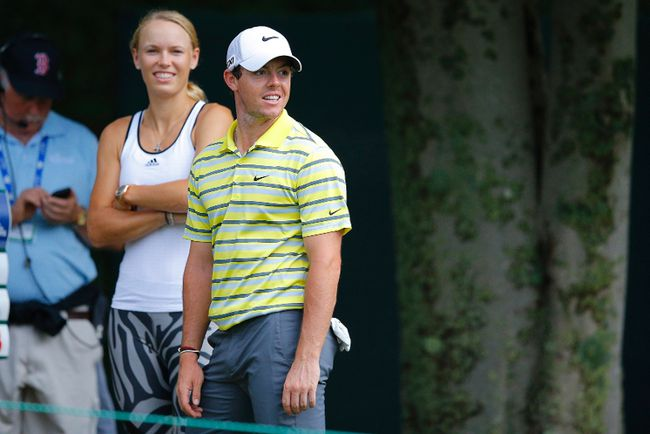 Golfer Rory McIlroy has called off his wedding to tennis player Caroline Wozniacki on Wednesday, saying he was to blame for the cancellation. (Brian Snyder/Reuters/Files)