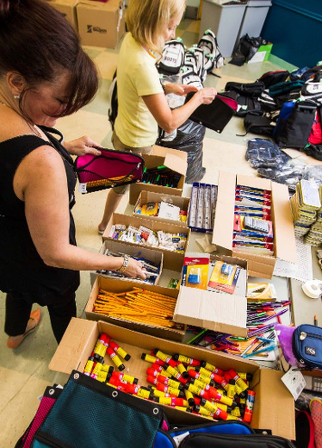 About one-tenth of Richmond School District's budget for school supplies will be chopped to save $400,000 and help balance the books. (QMI AGENCY FILE PHOTO)