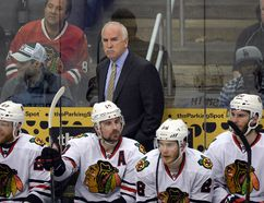 Facing elimination, the Chicago Blackhawks are taking it one game at a time. (Richard Mackson/USA TODAY Sports)