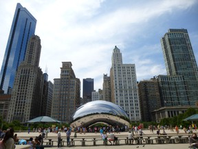 The Illinois Office of Tourism will take over Toronto's Yonge Dundas Square on Friday in a bid to lure tourists to the state's many attractions,  including Millennium Park in Chicago. ROBIN ROBINSON/TORONTO SUN FILE PHOTO