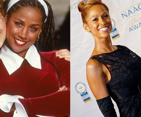 Stacey Dash in Clueless (1995) on the left, and in 2011 (Handout/WENN.COM)