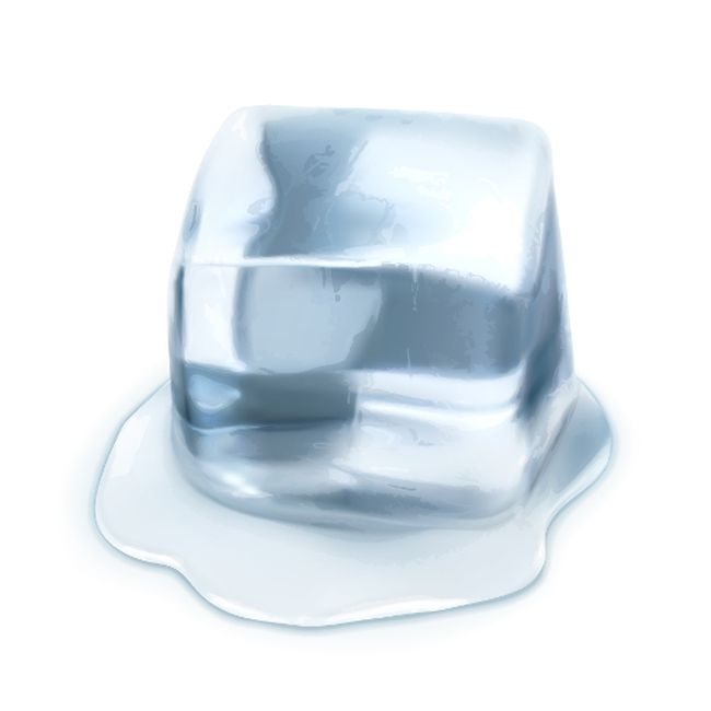Dieting giving you the cold shoulder? Well, Dr. Brian Weiner would like you to warm up to The Ice Diet. It takes energy to melt ice when ingested and this actually burns calories, so he proposes using this as a genuine weight loss tool.(Fotolia)
