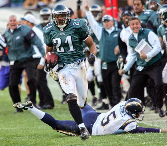 Argos hopeful Matt Ware in his days with the Philadelphia Eagles. (Reuters)