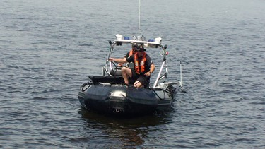 Police search Deschenes Rapids for man missing, presumed drowned_2
