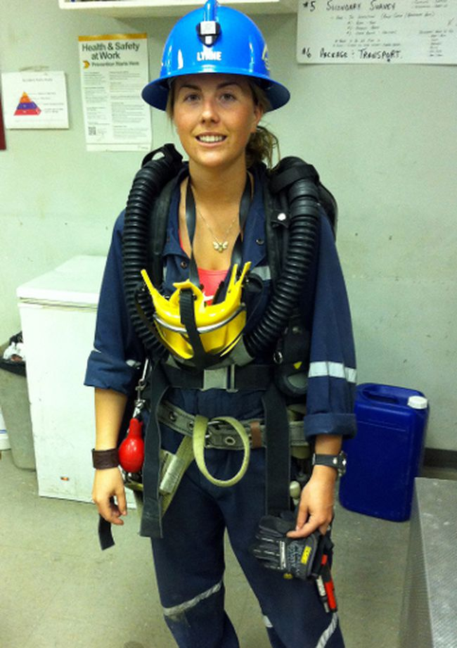 Lynne Bouchard is the captain for St. Andrew Goldfields mine rescue team that will be in Timmins this Thursday and Friday for the Ontario mine rescue competition. Bouchard is the first woman to ever captain a mine rescue team into a provincials.