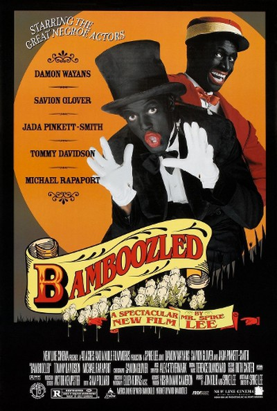 Bamboozled (2000)Pundits lined up to take a swipe at the poster for Spike Lee's racial satire, featuring two men in black face. They soon calmed down after it was revealed the man who designed Lee's poster was black.