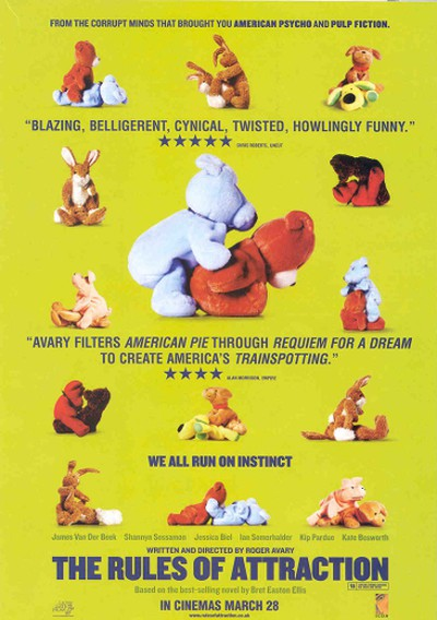 Rules of Attraction (2002)The images of stuffed animals posed in sexual positions made some Americans uneasy. It was banned in the U.S. – but given the green light in Canada and the U.K.