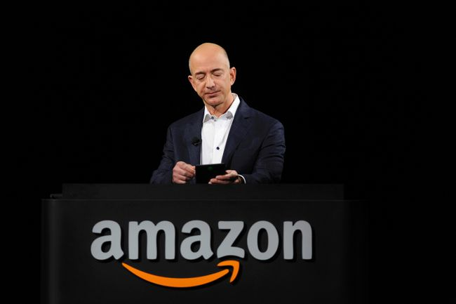 Amazon chief executive officer Jeff Bezos. REUTERS/Gus Ruelas/Files