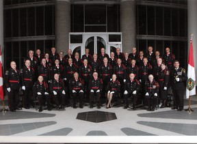 The York Regional Police Male Chorus will be featured at an upcoming concert to recognize first responders in St. Thomas and Central Elgin.   Submitted photo