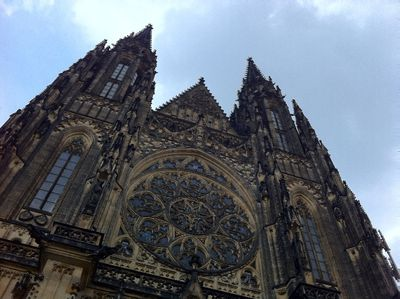 St. Vitus Cathedral at Prague Castle is a Gothic masterpiece and contains the tombs of many Bohemian kings and Holy Roman Emperors who ruled in ancient times. ROBIN ROBINSON/TORONTO SUN