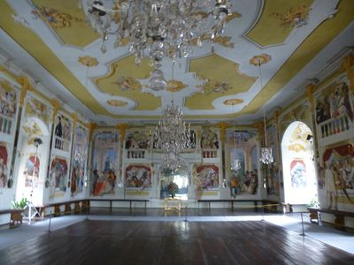 One of the beautifully restored rooms at the castle in Cesky Krumlov. ROBIN ROBINSON/TORONTO SUN