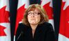 Canada's Information Commissioner Suzanne Legault listens to a question during a news conference upon the release of her report in Ottawa October 17, 2013. (REUTERS/Chris Wattie)