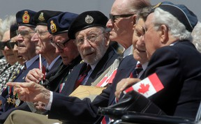 Governor General David Johnston paid tribute to all Canadians who fought so valiantly to capture Juno Beach. Tony Caldwell / Ottawa Sun