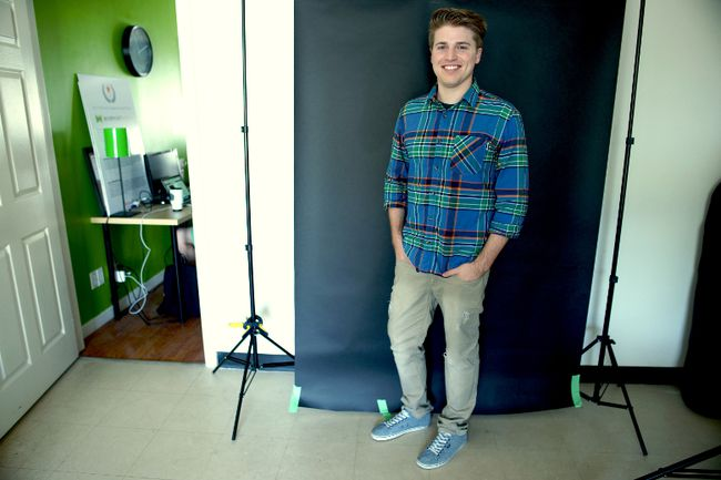 Cameron Arksey, co-founder and creative director of Warpaint Media, says creativity is his company's product, while offering a fresh approach to marketing. (HANK DANISZEWSKI, The London Free Press)