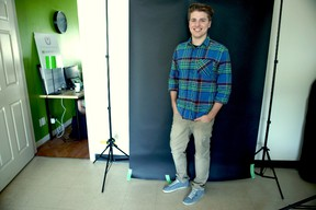 Cameron Arksey, co-founder and creative director of Warpaint Media, says creativity is his company?s product, while offering a fresh approach to marketing. (HANK DANISZEWSKI, The London Free Press)