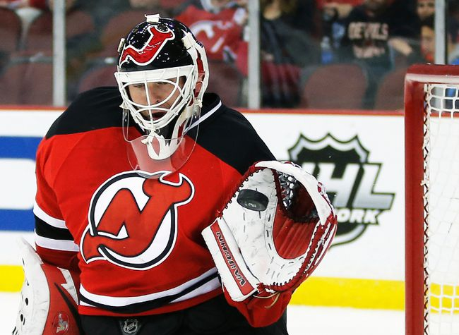New Jersey Devils goalie Martin Brodeur will make himself available as a free agent July 1. (Reuters)