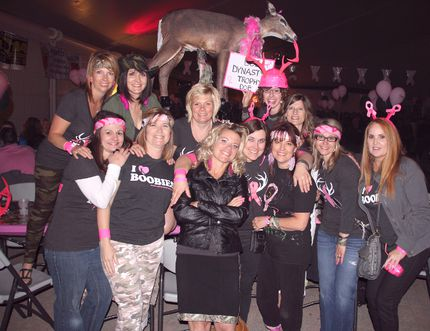 Doe Dynasty attended their third Boobie Nights as a group in support of the hospital foundation's digital imag