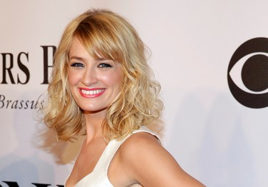 Actress Beth Behrs arrives for the American Theatre Wing's 68th annual Tony Awards at Radio City Music Hall in New York, June 8, 2014.  REUTERS/Andrew Kelly