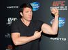 Mixed martial artist Chael Sonnen attends the UFC 170 event at the Mandalay Bay Events Center on February 22, 2014 in Las Vegas, Nevada. (Ethan Miller/Getty Images/AFP)