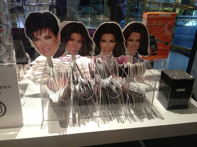 "Kardashian Khaos sells a selection of signature merchandise. Lucky shoppers may even spot one of the reality TV stars at the ""celebrity lifestyle"" boutique in The MIrage. PHOTO COURTESY DENISE TRUSCELLO"