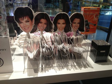 """Kardashian Khaos sells a selection of signature merchandise. Lucky shoppers may even spot one of the reality TV stars at the """"celebrity lifestyle"""" boutique in The MIrage. PHOTO COURTESY DENISE TRUSCELLO"""